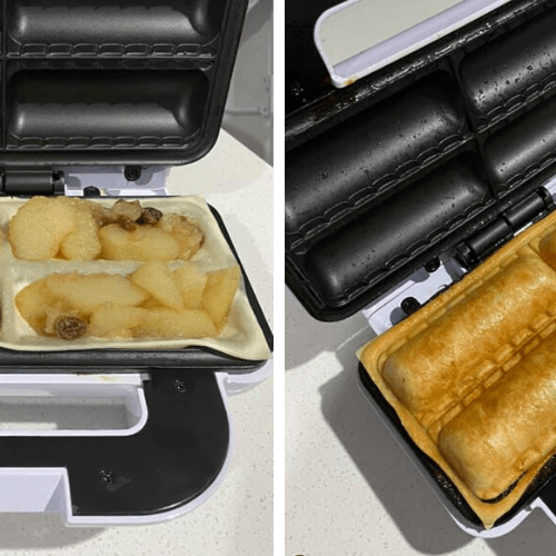 People Are Making McDonald's-esque Apple Pies With Kmart Sausage Roll Makers