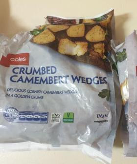 Coles Is Selling Crumbed Camembert Wedges For $5 & They Look Amazing!