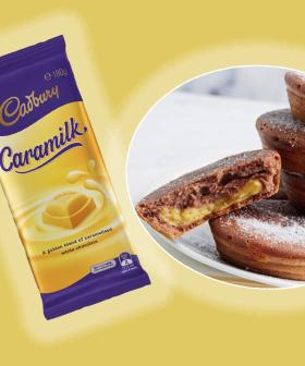You Can Make Caramilk Custard-Filled Doughnuts With Your Kmart Pie Maker