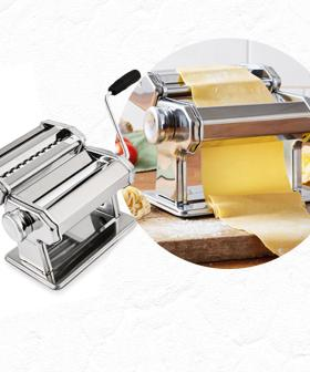 Put Those Iso Skills Into Use Because Aldi's Selling A Pasta Machine For $20!