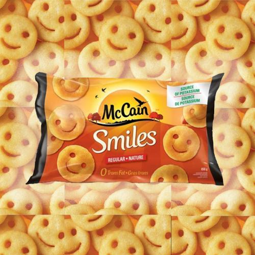 McCain's Smiles Are Back In Freezers With A New Name