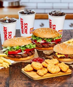 Wanna Get Free Delivery On Hungry Jacks For The Next Week?