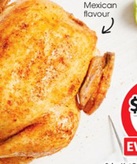 """Coles Now Sells A $12 """"Mexican-Inspired"""" Roast Chicken And It Sounds Delicious!"""