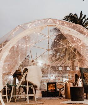 Glenelg's Moseley Igloos Are Back For Winter And They Look So Cosy!