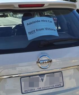 Anti-Victorian Sentiment Leads To Tourist Making Extraordinary Sign For Hire Car