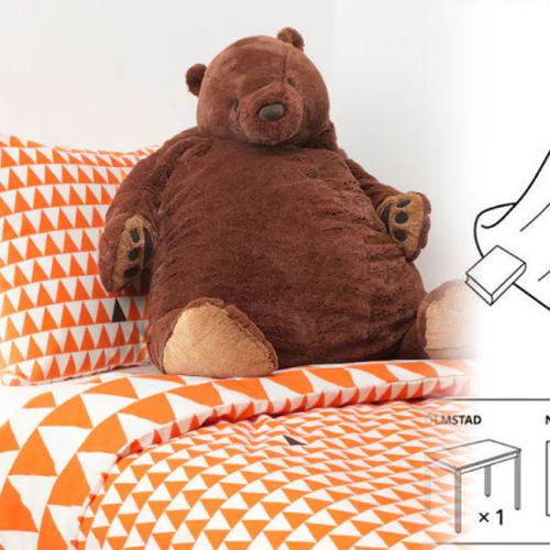 The Internet Is Losing It Over A $35 Ikea Toy Bear Called Djungelskog
