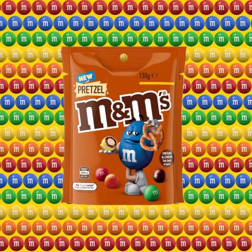 Pretzel M&M's Are Coming To Aus And According To Science It's THE Best Flavour