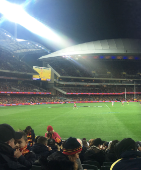 SA Police To Issue $1000 Fines For Any Fans Who Break Social Distancing Guidelines At The Footy Tonight