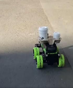 Smartest Idea During Covid-19? Meet The Coffee Car!