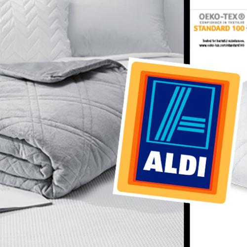Aldi's Got Weighted Blankets Coming In Stock!