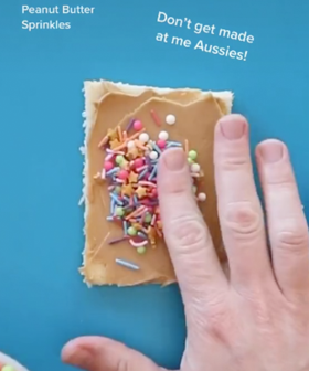 An American Makes Fairy Bread Using Peanut Butter & Aussies Are Not Having It