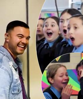 Guy Sebastian Surprises A School Choir Mid-Rehearsal And Their Reactions Are Priceless
