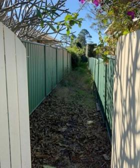 This Three Metre Wide Laneway Selling For $70K Proves The Market Is Still Bonkers
