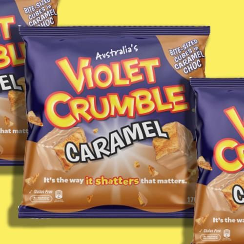 There's New Caramel-Flavoured Violet Crumbles Out There And They Look Delicious!