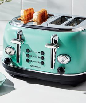 Achieve The Ultimate Kitchen Aesthetic With This Cute Toaster From Aldi