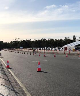 Thousands Flock To New Testing Station At Victoria Park