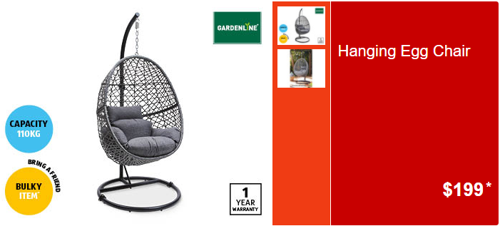 Aldi S Hanging Egg Chair Is Back On Sale Just In Time For Spring And It S Cheap