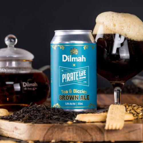 Pirate Life Are Now Brewing A New Dilmah 'Tea & Biccies' Beer