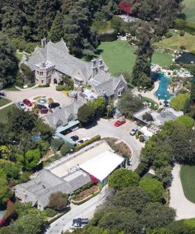 The Playboy Mansion Has Apparently Been Stripped By Looters And Is Now Rotting