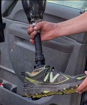 Man Finds Prosthetic Leg In Garden And You Won't Believe How It Got There!!