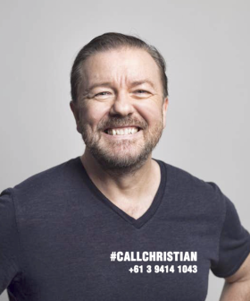 Who's Calling Christian? Ricky Gervais!