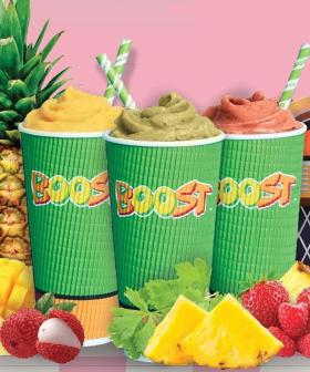 Ummmm... Boost Juice Is Selling Coriander & Pineapple Smoothies?