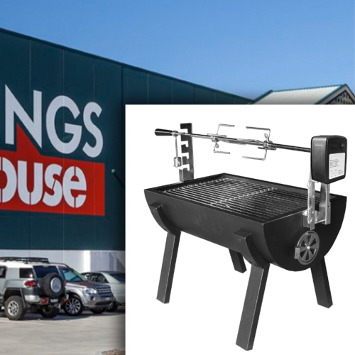 Thousands of Aussies Have Gone Nuts For An $85 Bunnings Spit Roast Barbecue