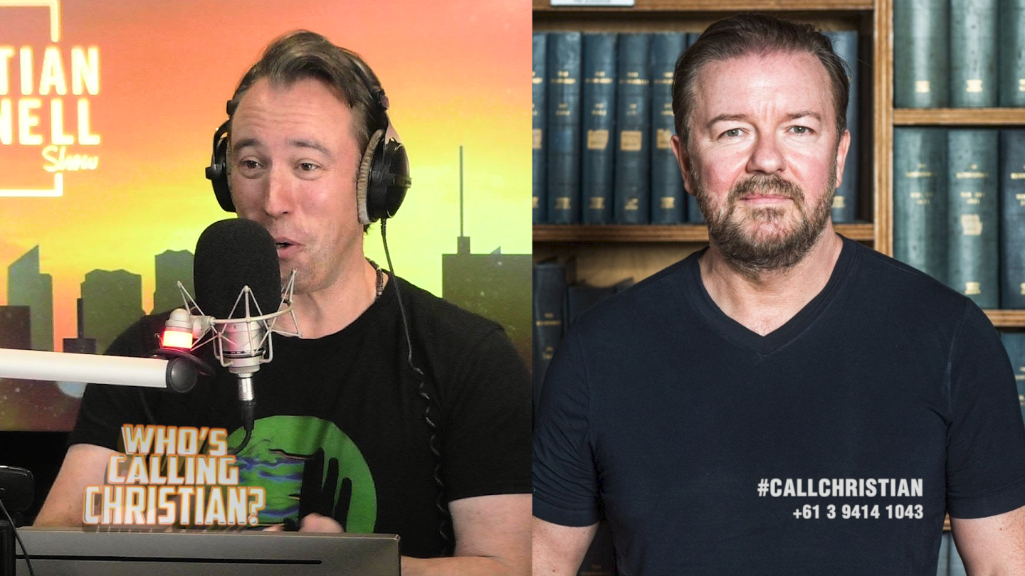 Ricky Gervais Wins Who's Calling Christian!