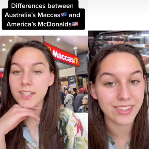 Viral Video Shows The American McDonald's Items We Are Missing Out On In Australia