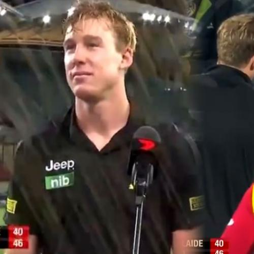 Hear What Young Port Fan Archer Said To Tom Lynch Following Friday's Game