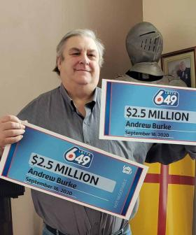 Why Canadian Man Was Forced To 'Split' $5 Million Winnings With Himself