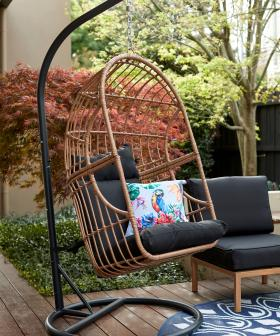 Kmart Is Releasing A Swish Egg Chair As Part Of New 'Online Only' Range