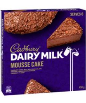Cadbury Dairy Milk Mousse Cakes Have Hit Supermarket Shelves