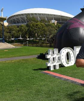 Thousands Of Rugby League Fans Pour Over Border For Tonight's State Of Origin At Adelaide Oval