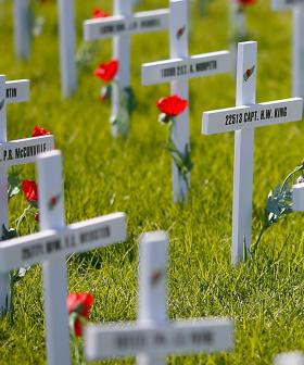 Vandals Damage RSL's North Terrace Remembrance Day Memorial