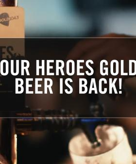 Our Heroes Gold Beer Is Back!