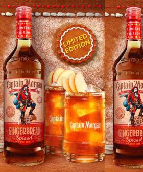 Captain Morgan's Got A Spiced Gingerbread-Flavoured Rum Just For Christmas!
