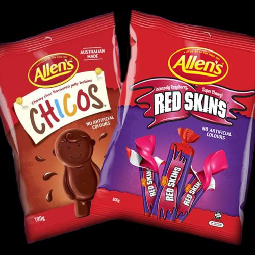 Nestle Announces New Names For Red Skins And Chicos Lollies