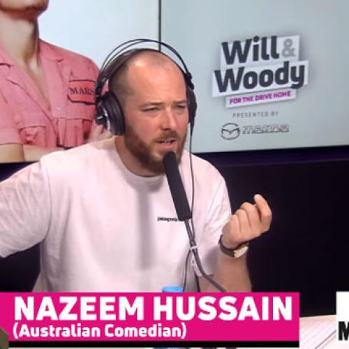 Aussie Comedian Nazeem Hussain Joins Will & Woody To Talk About Mental Health