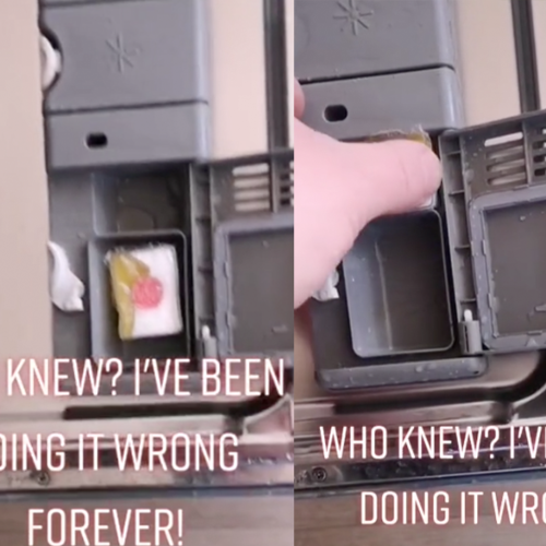 """Dishwasher Hack Sparks Debate After Dad Claims He's Been """"Doing It Wrong"""""""