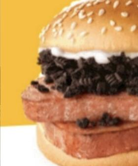 Macca's Is Releasing A Burger Made With OREOS AND SPAM
