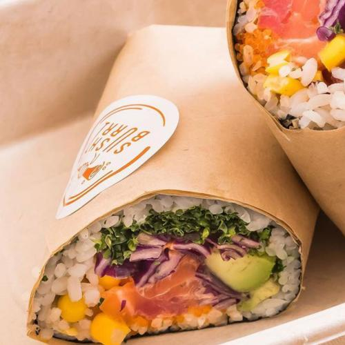 Would You Try A Sushi Burrito? Now You Can At This New CBD Take Away Joint