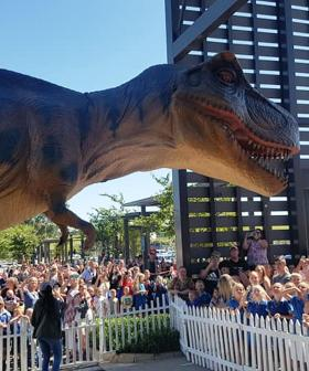 A Massive Dinosaur Exhibition Is Roaring Into Adelaide This Week For School Holidays!