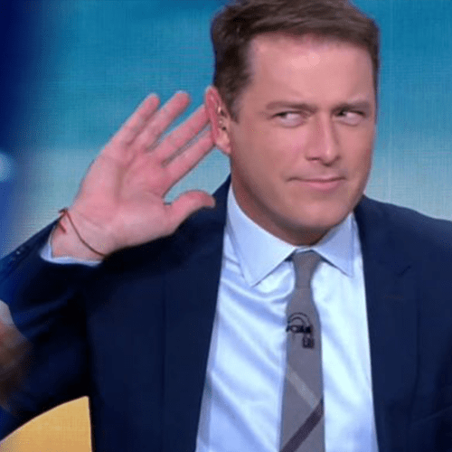 Karl Stefanovic Lets Bernie Tomic Have It