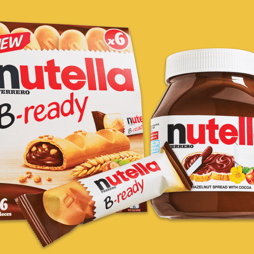Nutella's Dropped 'B'Ready On The Go' Bars So You Can Chow On Hazelnut Spread Whenever You Desire