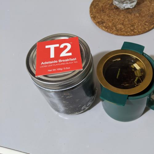 T2 Have Released An 'Adelaide-Flavoured' Tea And We're Not Sure We'd Drink This For Breakfast