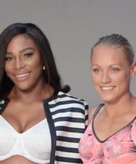Erin Phillips Hangs Out With Serena Williams Semi-Naked