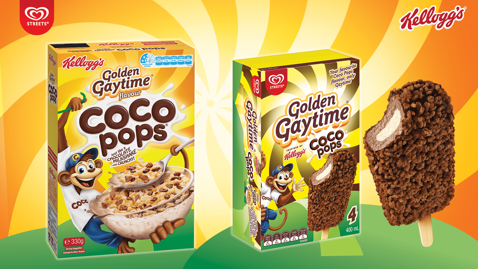 image for Golden Gaytime & Coco Pops Are 'Freaky Friday-ing' Their Products!
