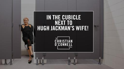 In The Cubicle Next To Hugh Jackman's Wife!