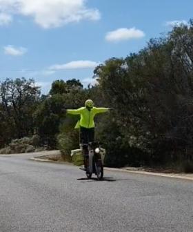 Postie Goes Full Evel Knieval In Viral Tiktok Video
